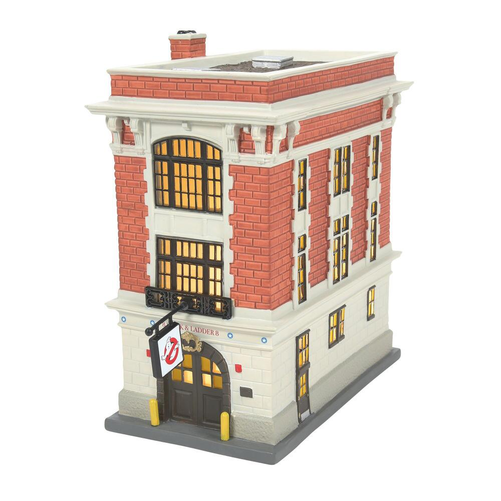 Department 56 Ghostbusters - Firehouse 2021