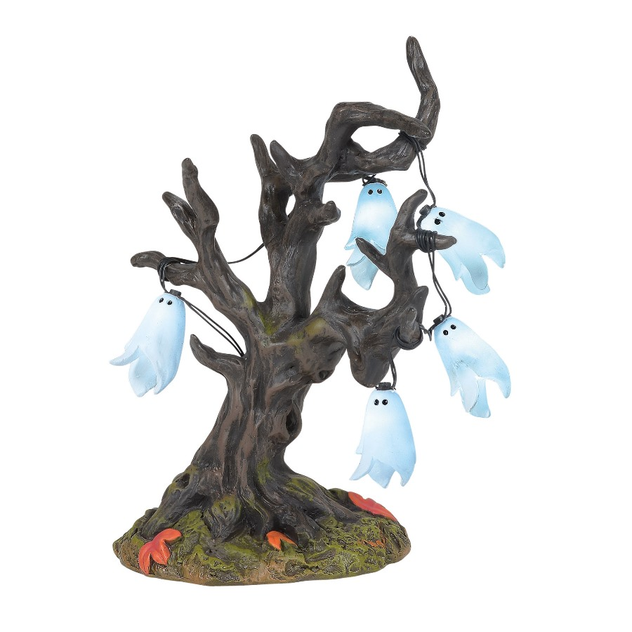 Department 56 Halloween Accessory - Illuminated Ghost Tree 2020