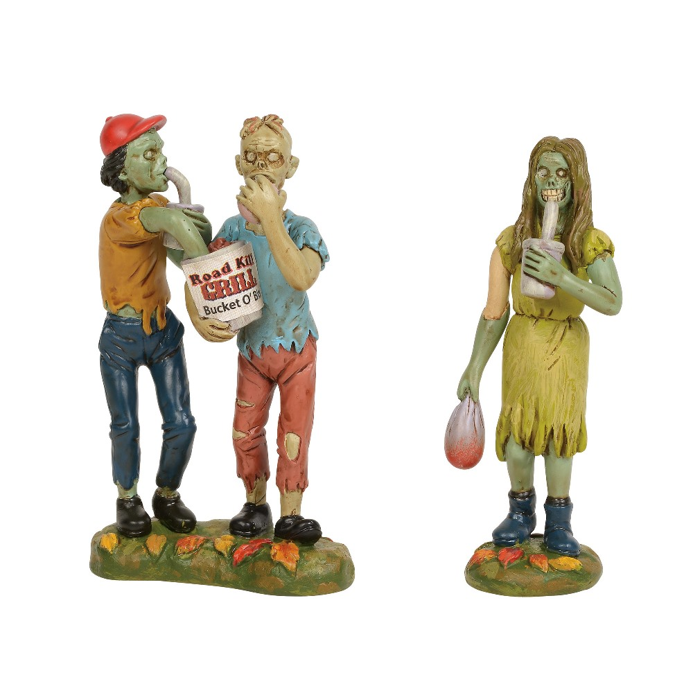 Department 56 Halloween Village Accessory - Bucket O' Bits To Go 2019