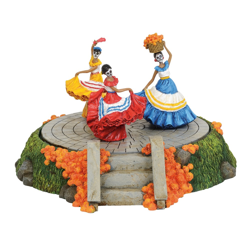 Department 56 Halloween Village Accessory - Day Of The Dead Festive Dance 2019