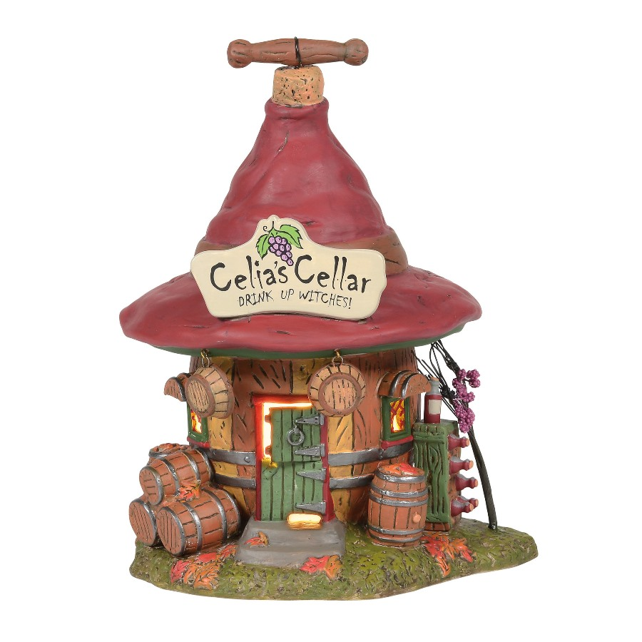 Department 56 Halloween Village - Celias Cellar 2020
