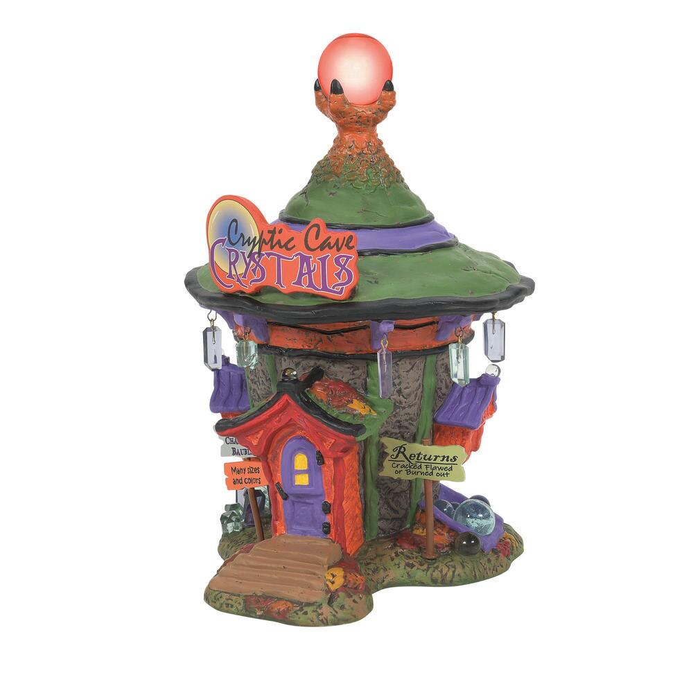 Department 56 Halloween Village - Cryptic Cave Crystals 2021