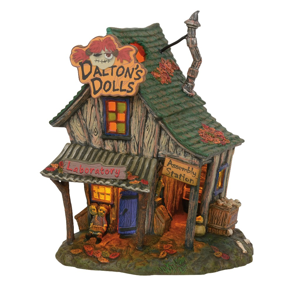 Department 56 Halloween Village - Dalton's House of Dolls 2019
