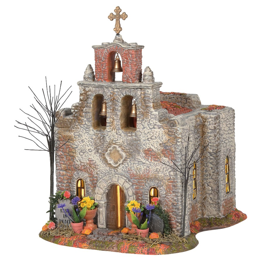 Department 56 Halloween Village - Day Of The Dead Church 2020