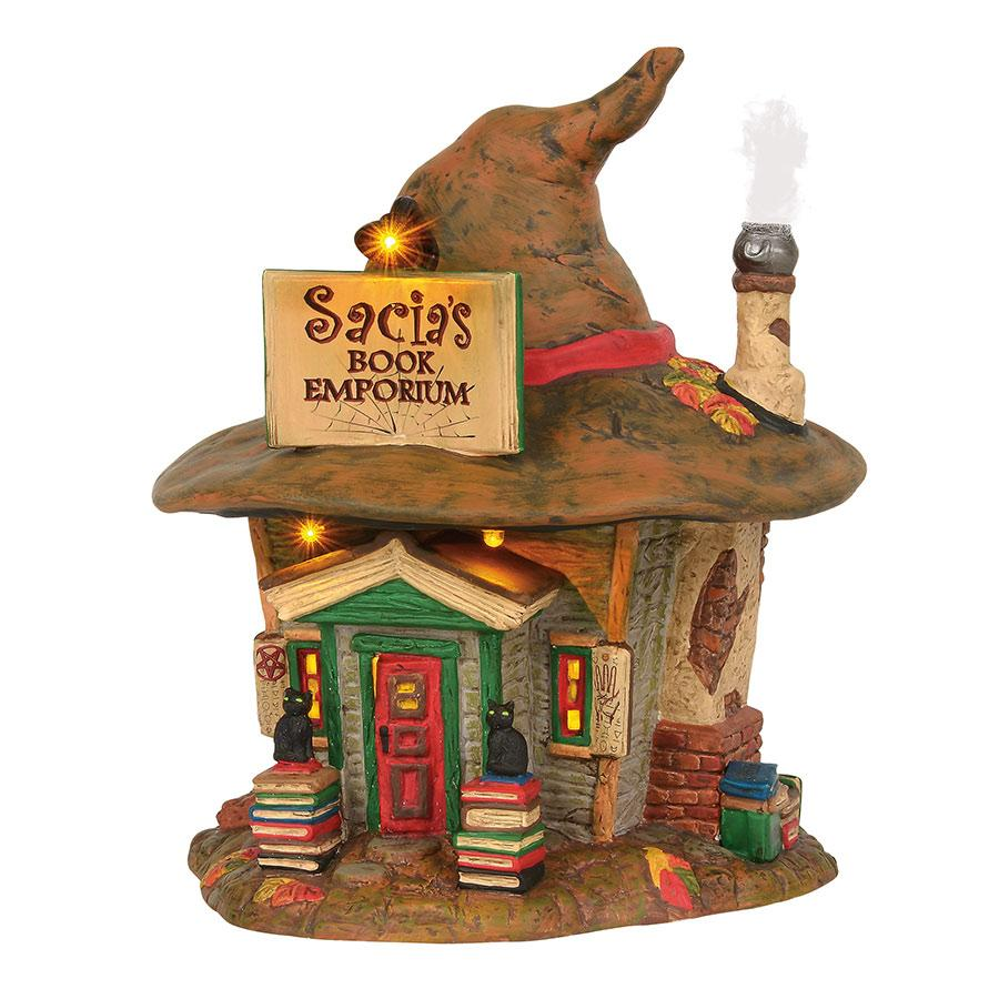 Department 56 Halloween Village - Sacia's Book Emporium 2019