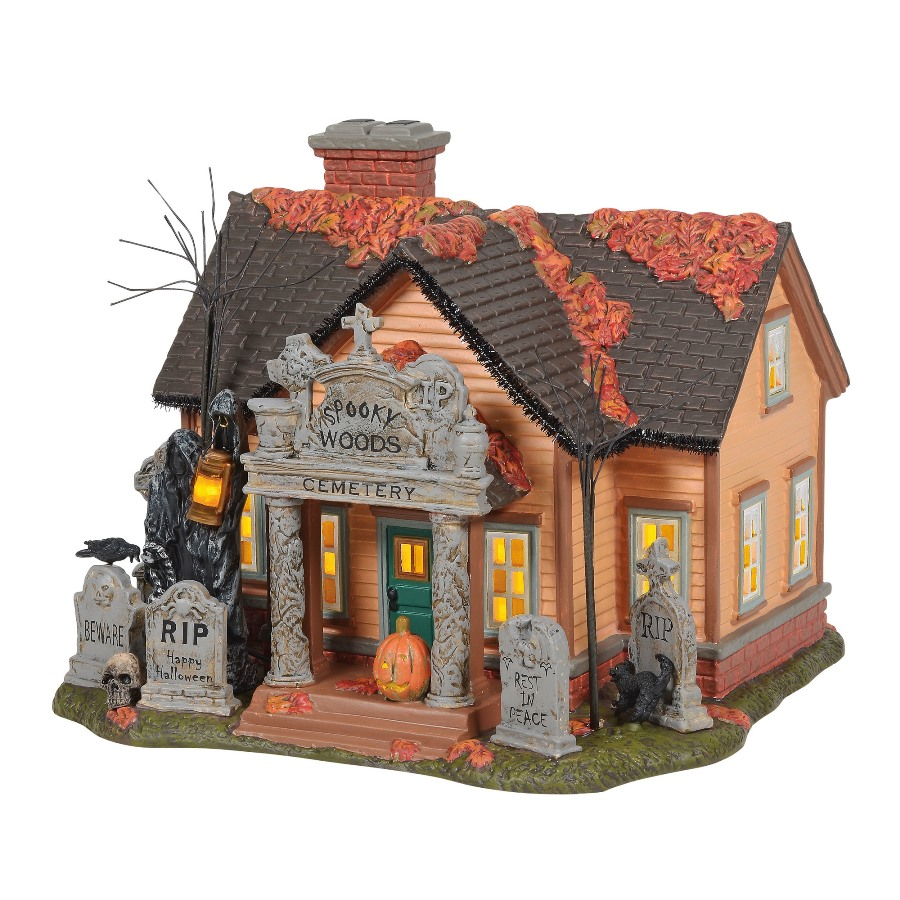 Department 56 Halloween Village - The Cemetery House 2020