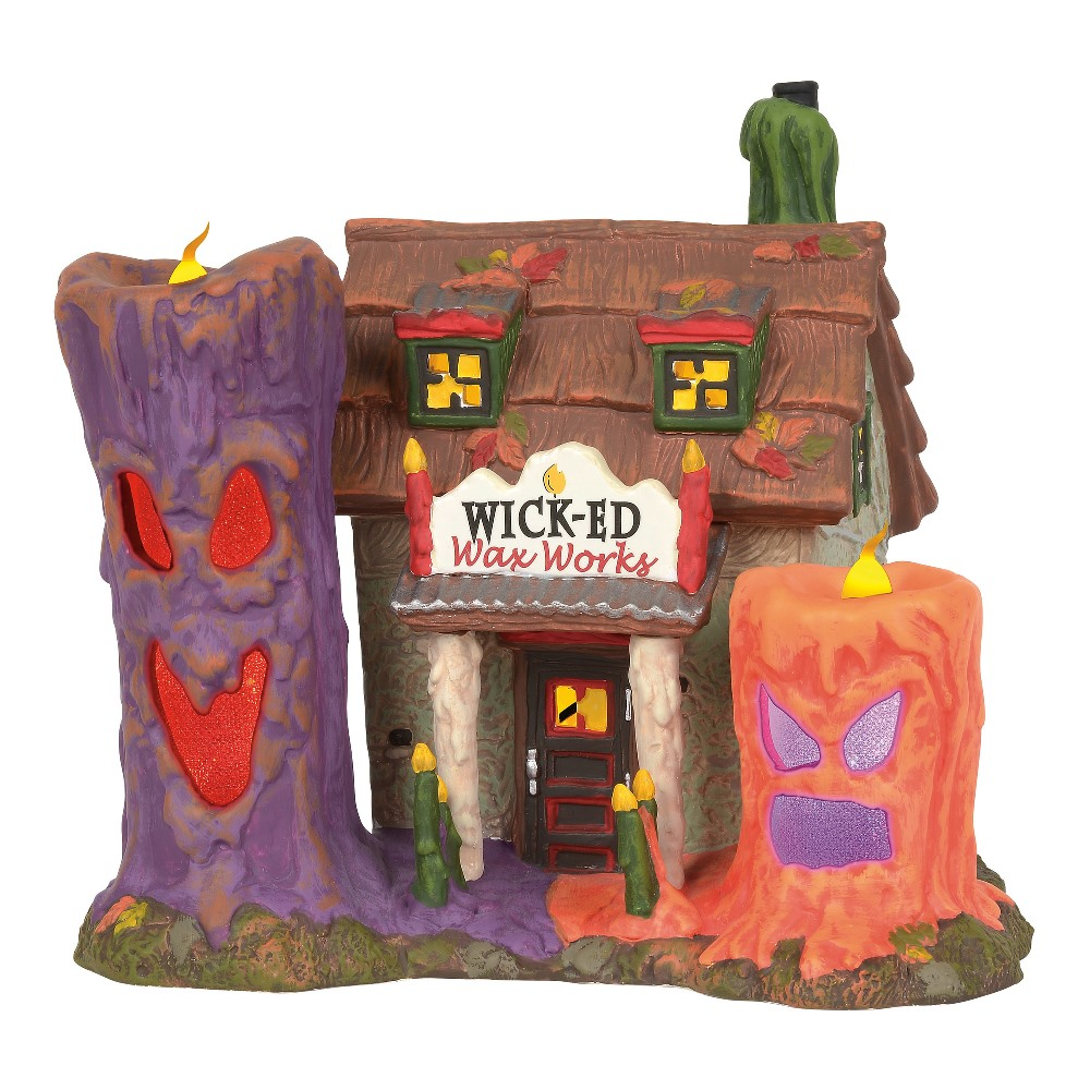 Department 56 Halloween Village - Wicked Wax Works 2019