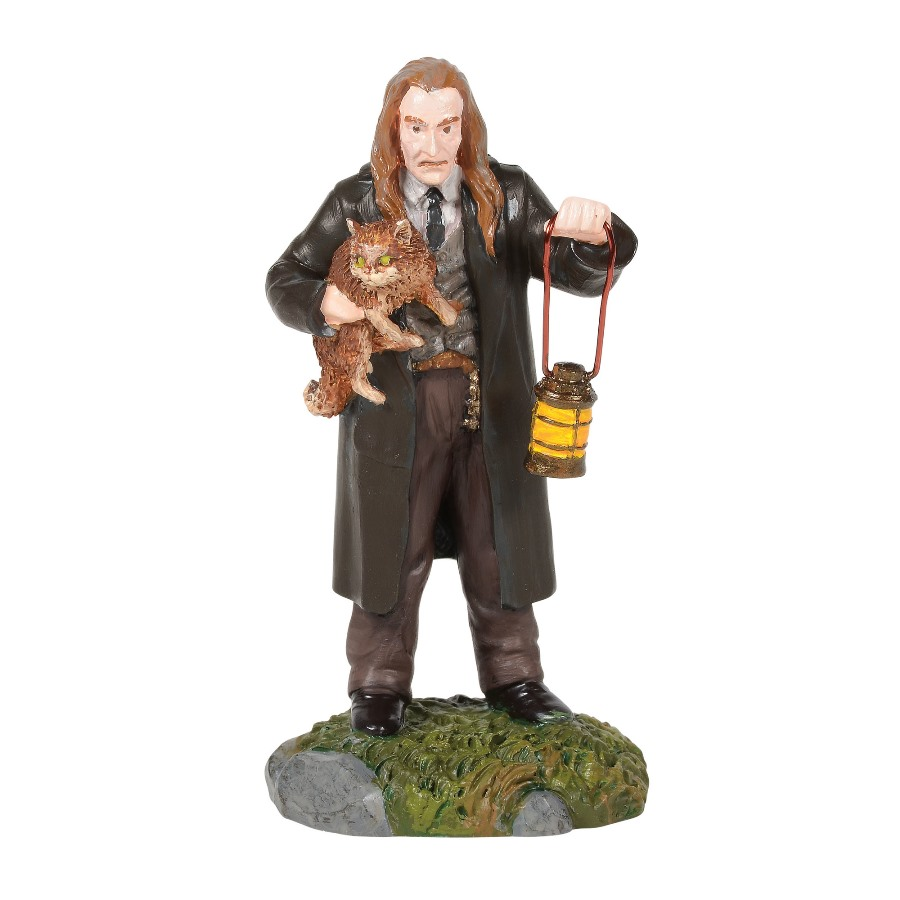 Department 56 Harry Potter Village Accessory - Filch & Mrs Norris 2020