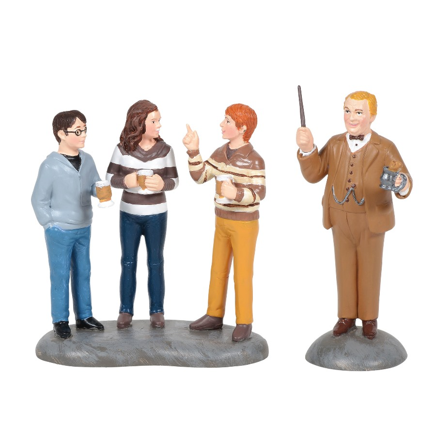 Department 56 Harry Potter Village Accessory - Professor Slughorn & Trio 2020