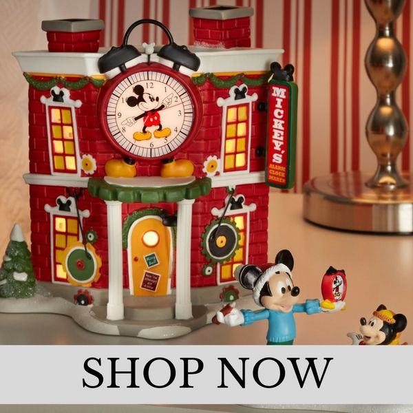 Department 56 - Mickeys Merry Christmas Village - Christmas Village Set