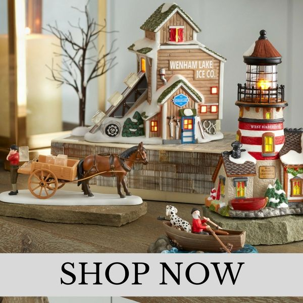 Department 56 - New England Village - Christmas Village Set