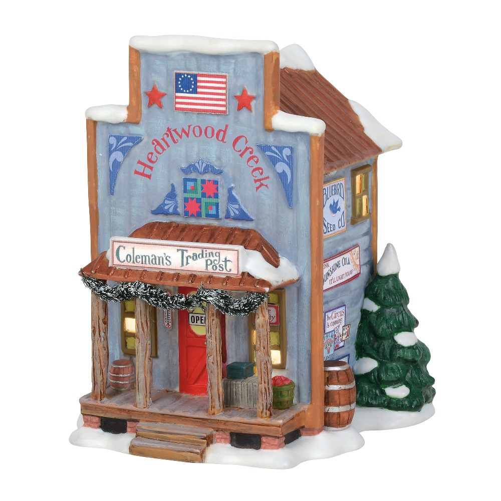 Department 56 New England Village - Coleman's Trading Post 2019