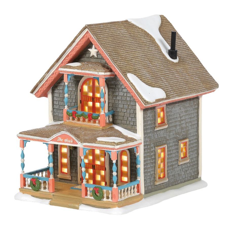 Department 56 New England Village - Gingerbread Cottage No 1 2020