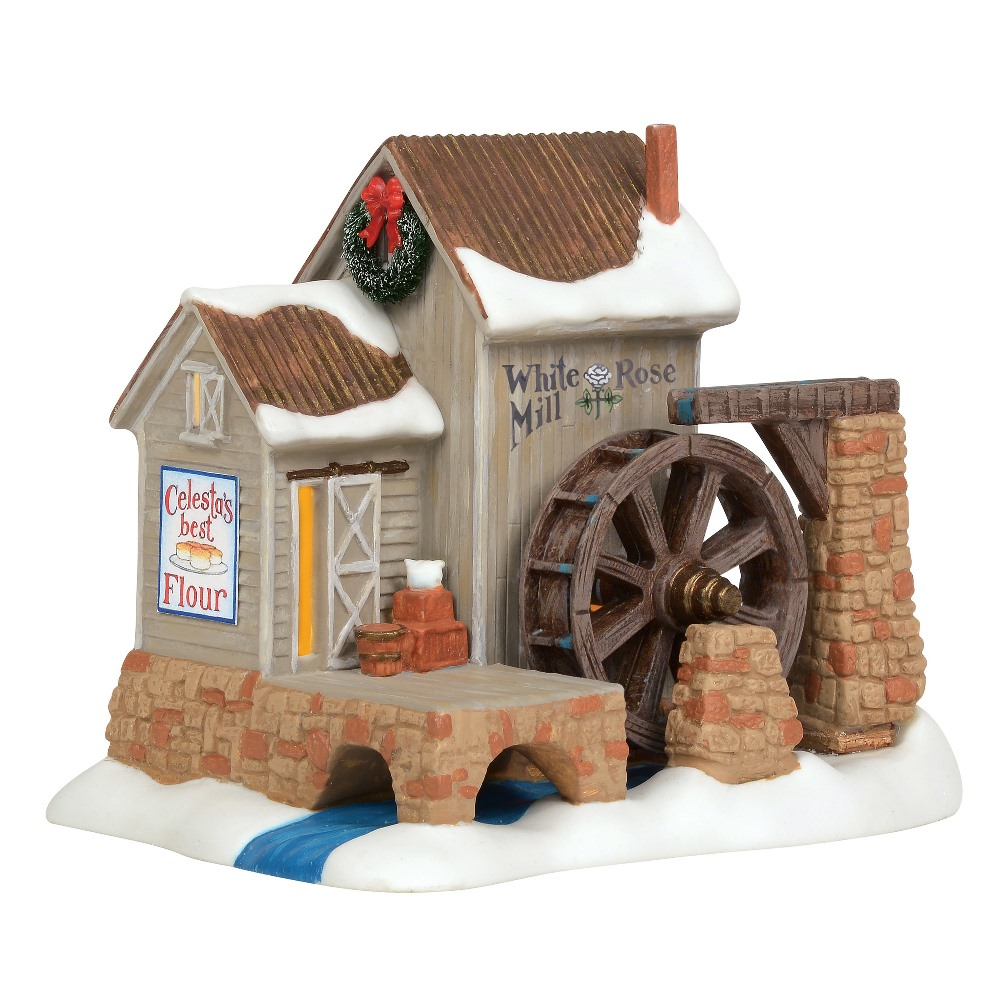 Department 56 New England Village - White Rose Mill 2019