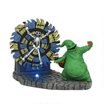 Department 56 Nightmare Before Christmas - Oogie Boogie Give a Spin 2019