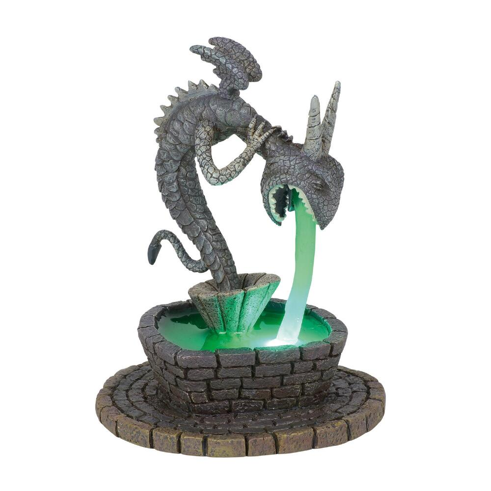 Department 56 Nightmare Before Christmas - Town Square Fountain 2018