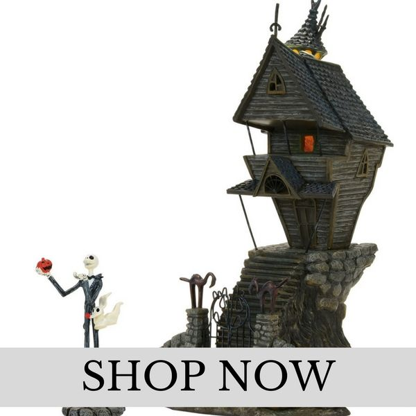 Department 56 - Nightmare Before Christmas - Christmas Village Set