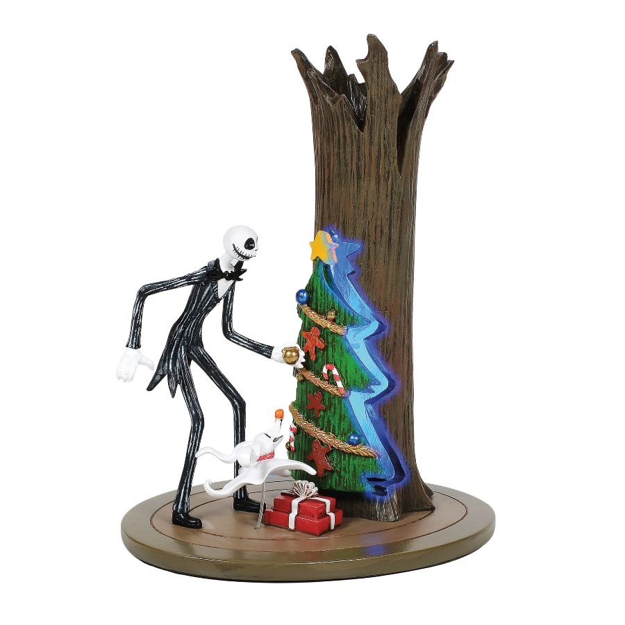 Department 56 Nightmare Before Christmas Village - Jack Discovers Christmas 2020