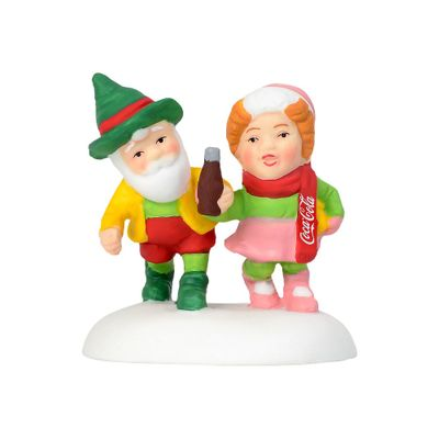 Department 56 North Pole Accessory - Have A Coke And Smile 2018