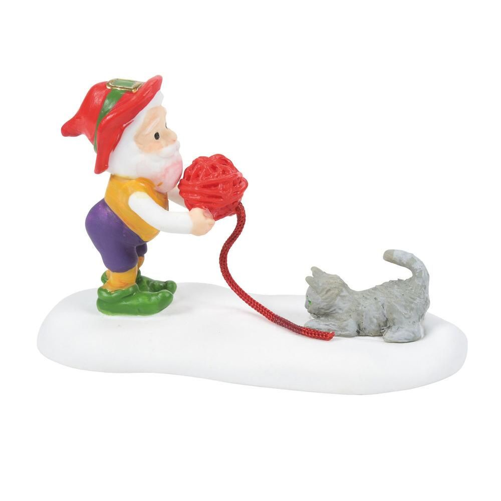 Department 56 North Pole Accessory - Kitten Tested For Best Mittens 2021