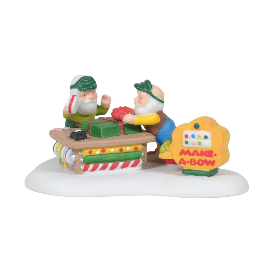 Department 56 North Pole Accessory - Make-A-Bow Machine 2020