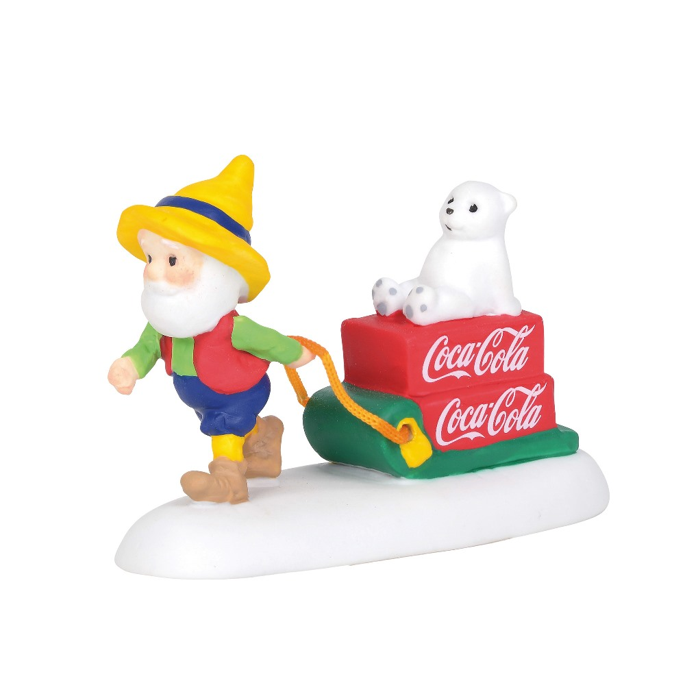 Department 56 North Pole Village Accessory - Coca-Cola Special Delivery 2019