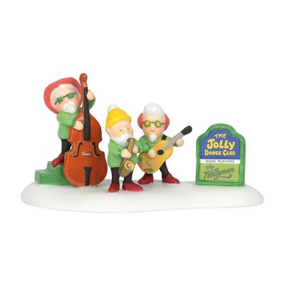 Department 56 North Pole Village Accessory - Presenting the Hollymen 2019