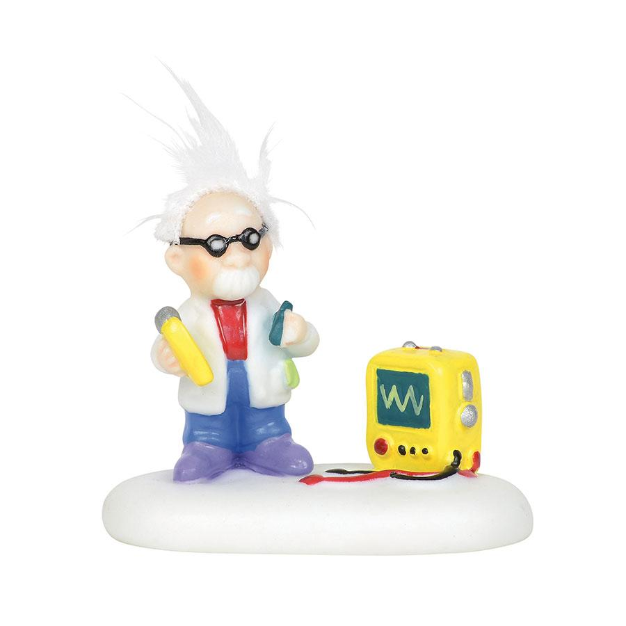 Department 56 North Pole Village Accessory - Static Electricity Expert 2019