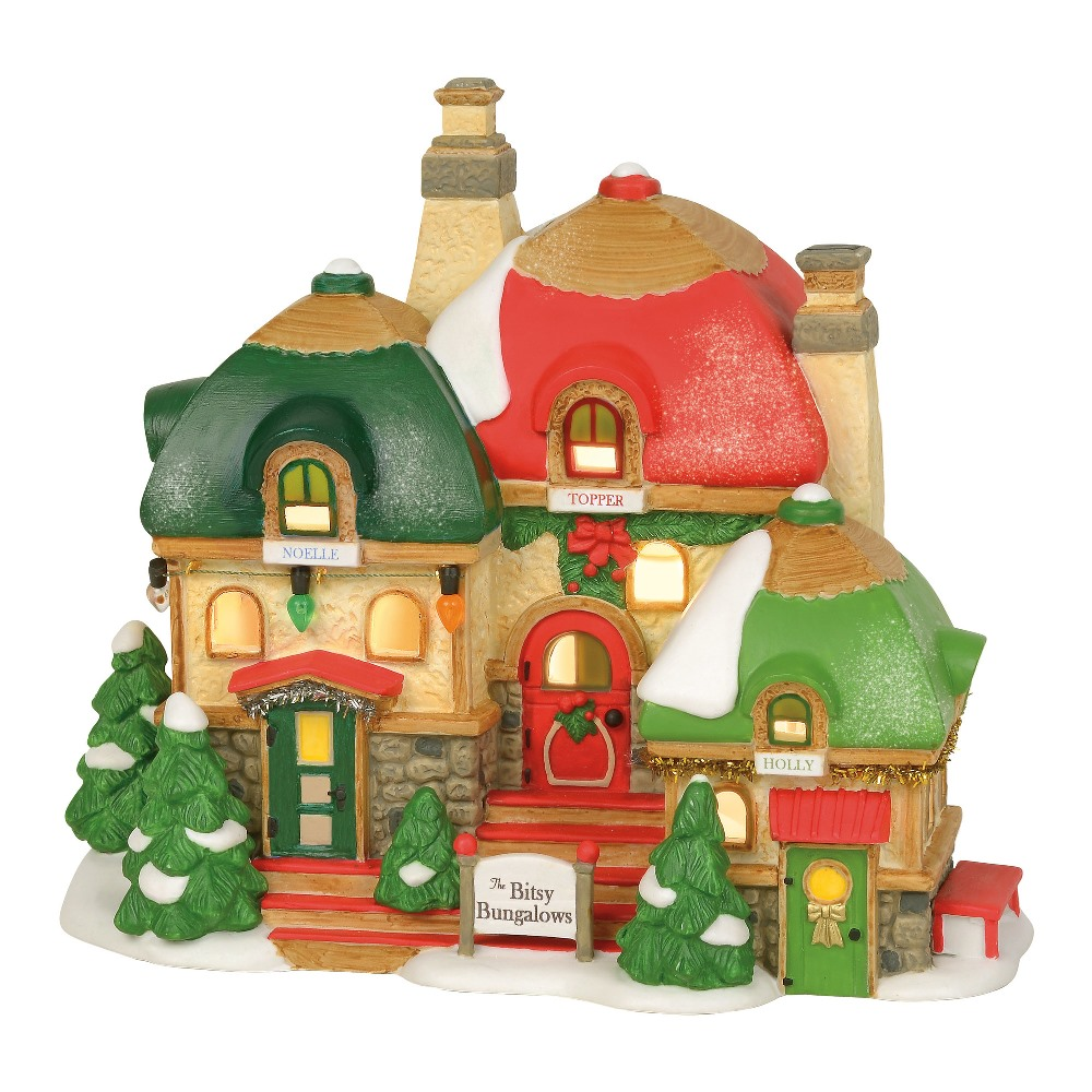 Department 56 North Pole Village - Bitsy Bungalows 2019