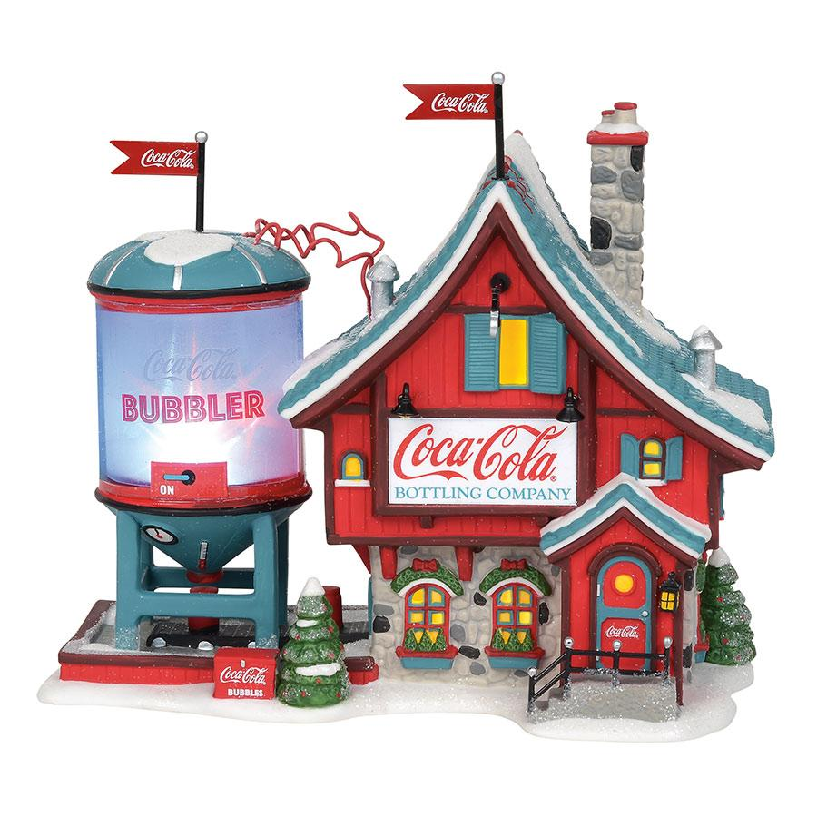 Department 56 North Pole Village - Coca-Cola® Bubbler 2019
