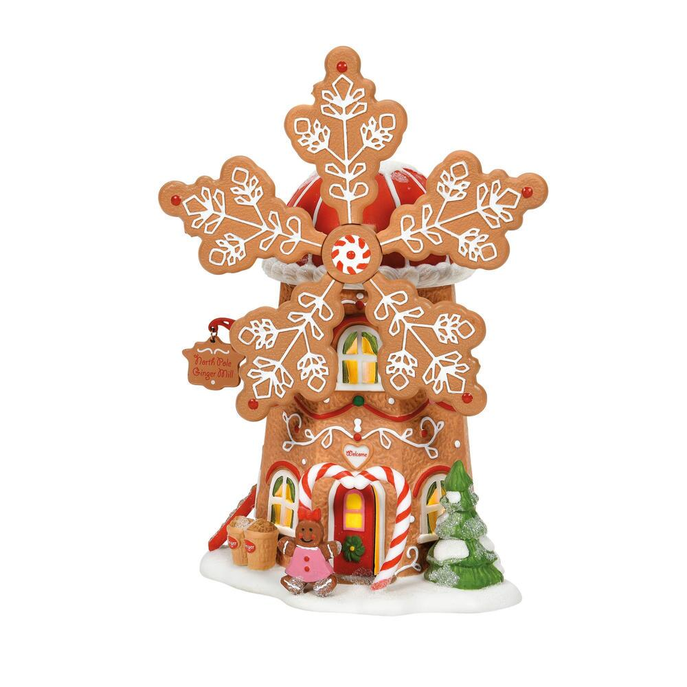Department 56 North Pole Village - Gingerbread Cookie Mill 2021