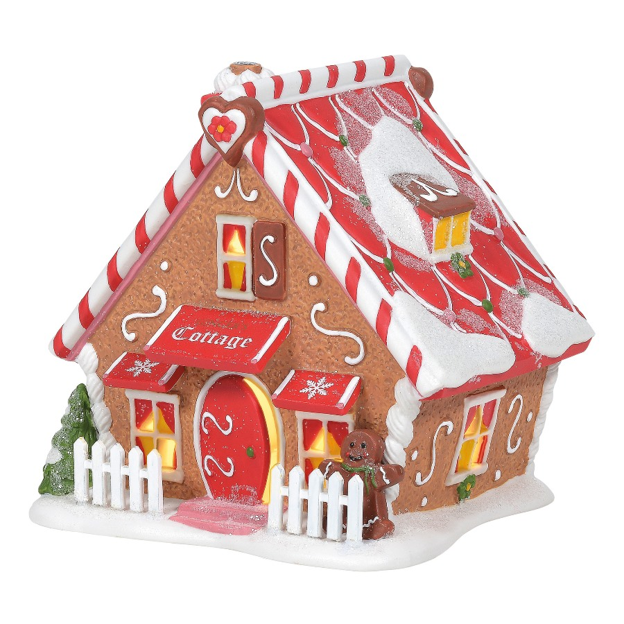 Department 56 North Pole Village - Gingers Cottage 2020