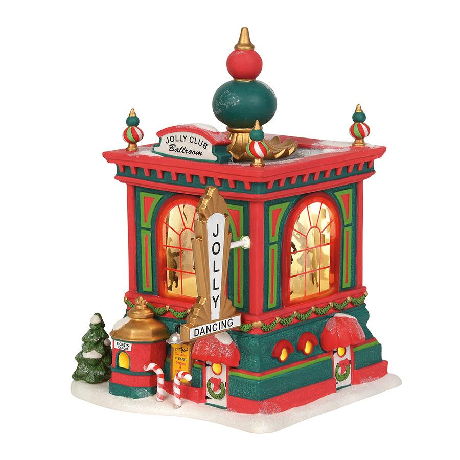 Department 56 North Pole Village - Jolly Club Ballroom 2019
