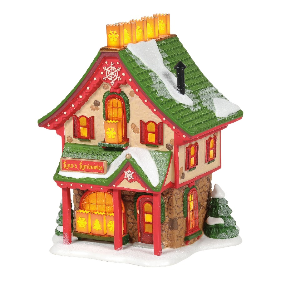 Department 56 North Pole Village - Lunas Luminaries 2020