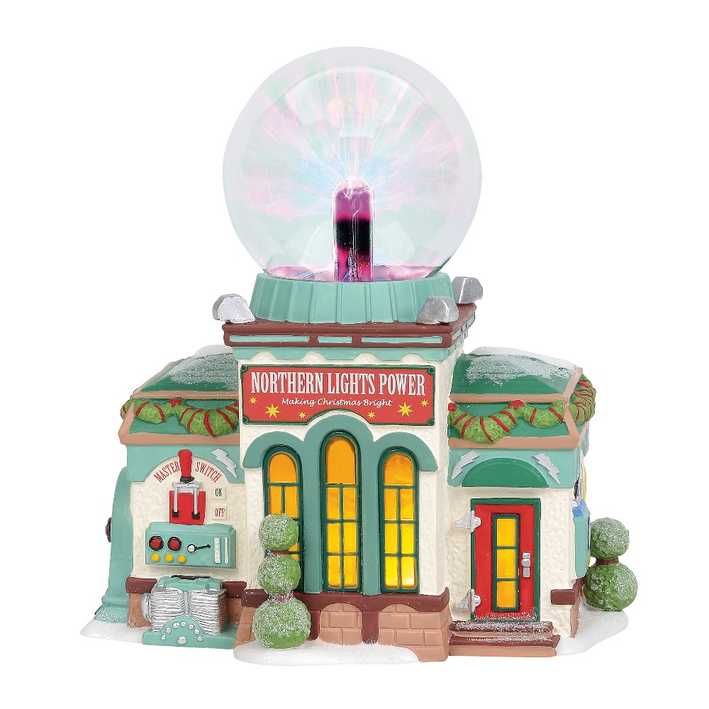 Department 56 North Pole Village - Northern Lights Power 2019