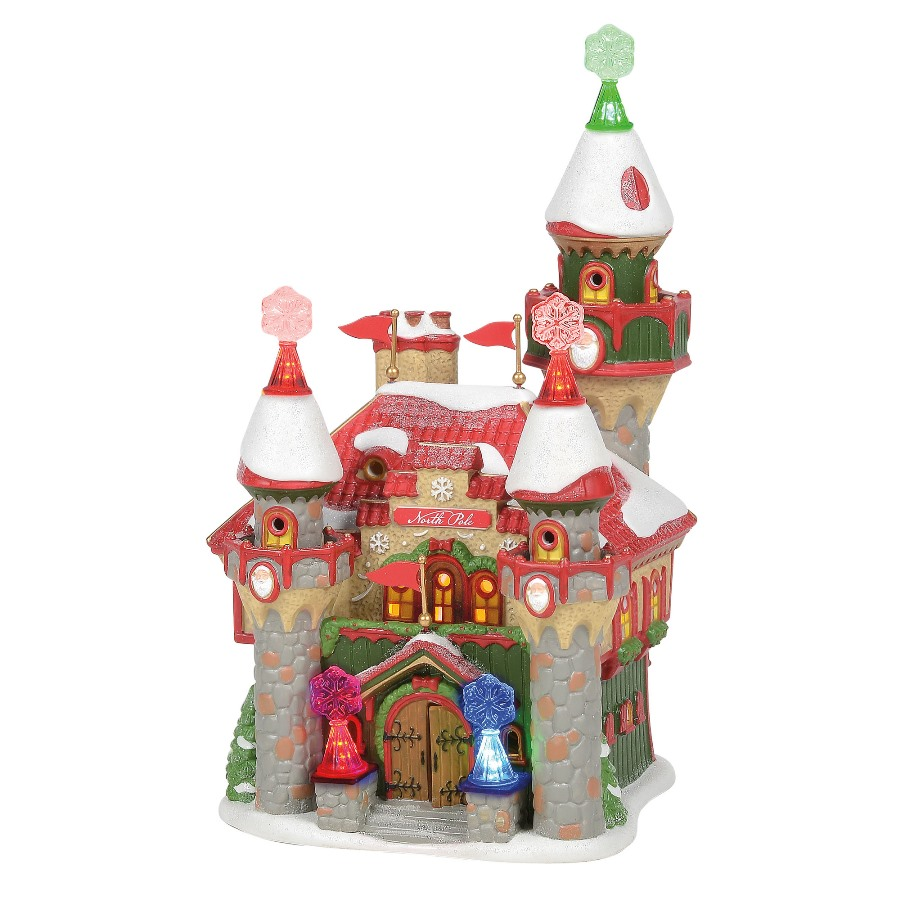 Department 56 North Pole Village - Santas Snowflake Palace 2020