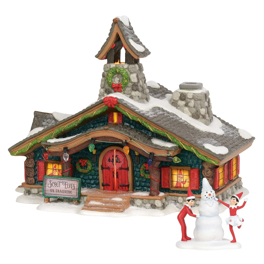 Department 56 North Pole Village - Scout Elves in Training 2019