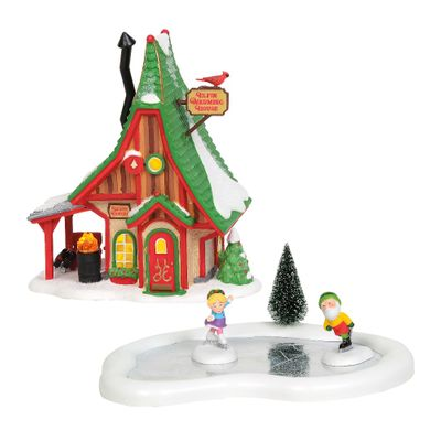 Department 56 North Pole Village - Skating Party Gift Set 2019