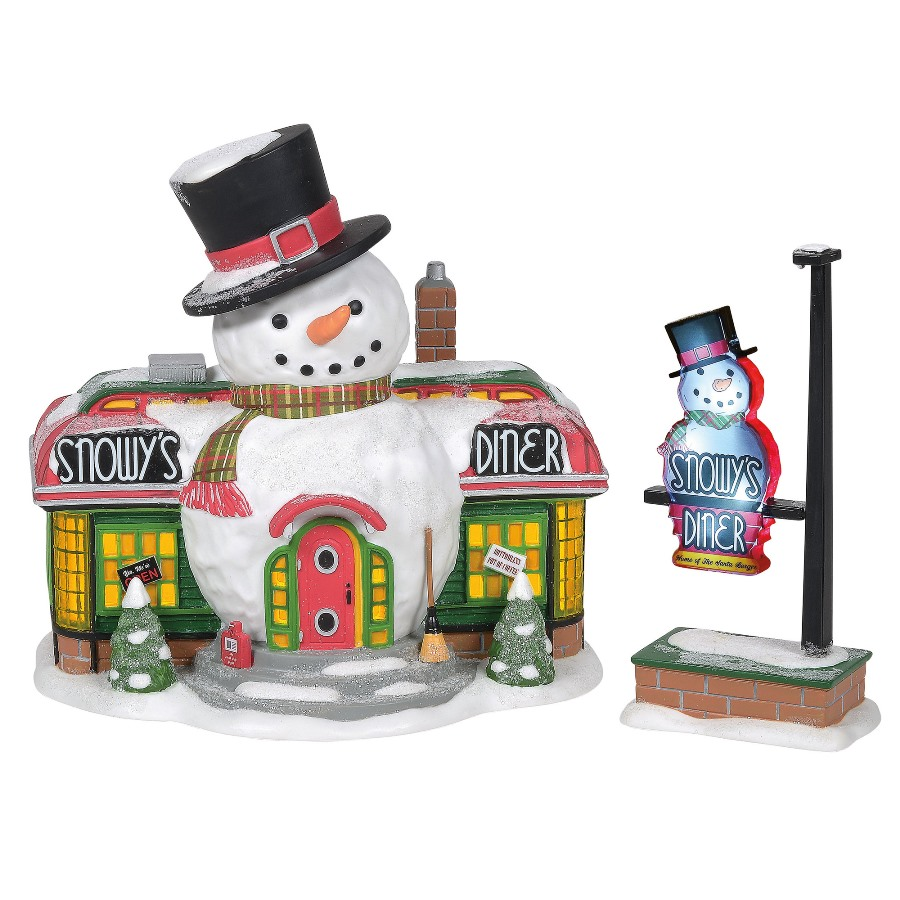 Department 56 North Pole Village - Snowys Diner 2020