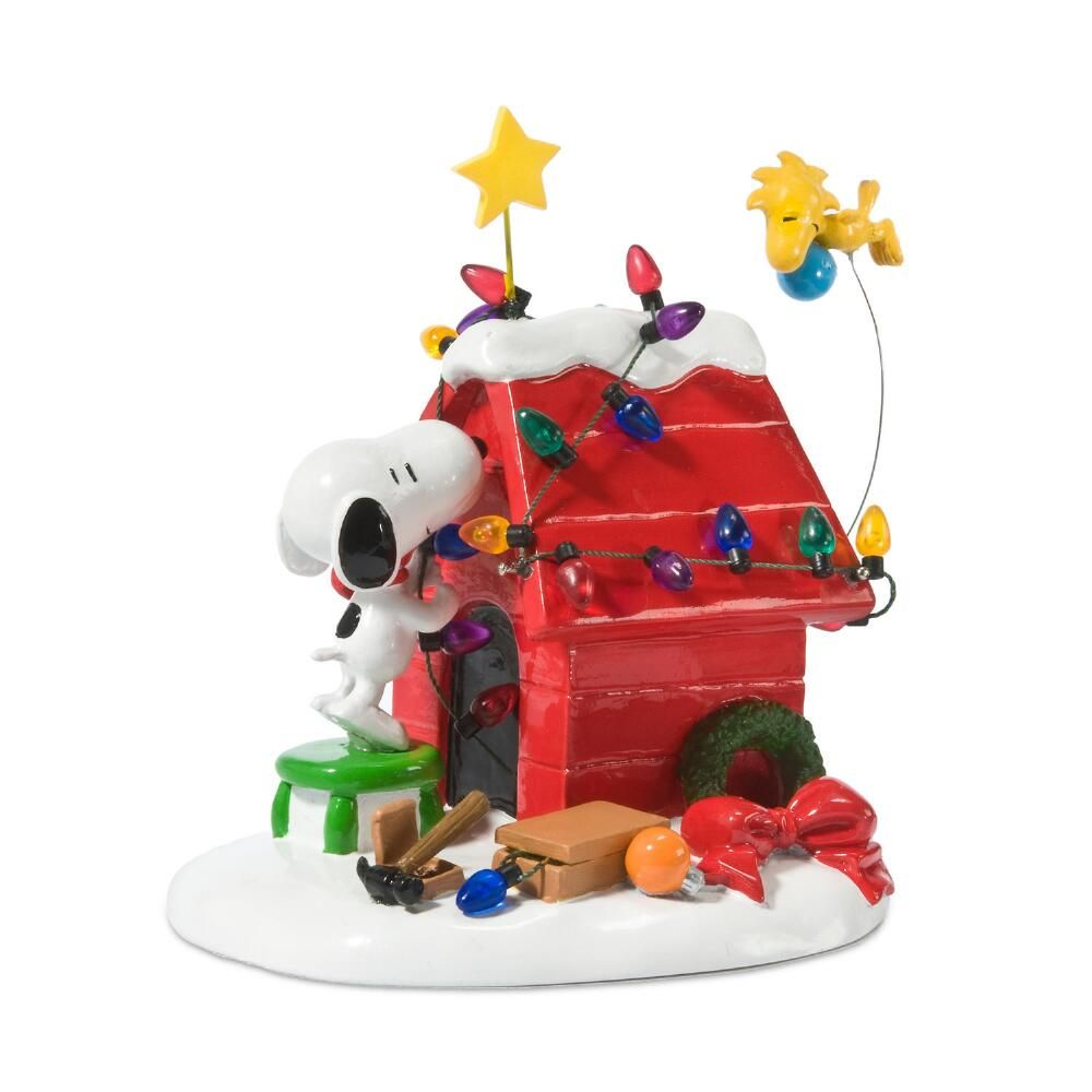 Department 56 Peanuts Village - Getting Ready for Christmas 2021