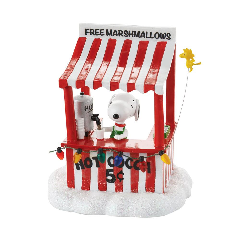Department 56 Peanuts Village - Snoopys Cocoa Stand 2016