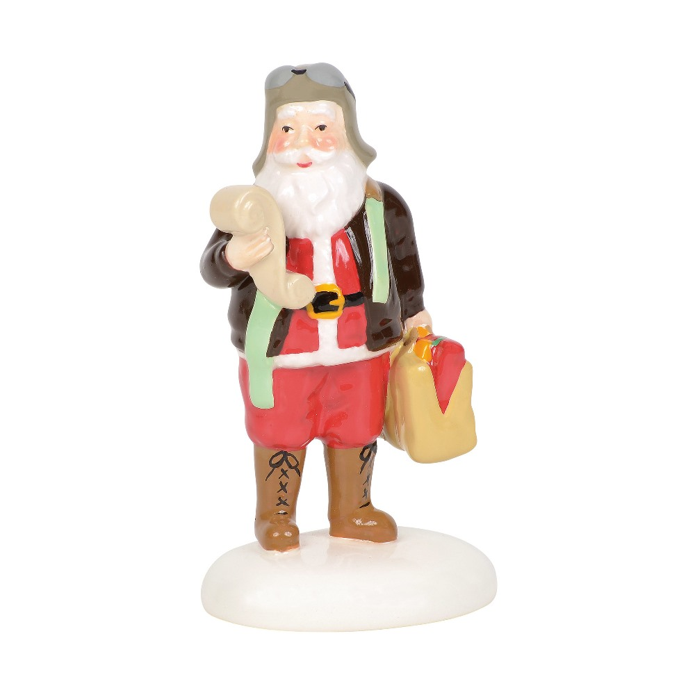 Department 56 Snow Village Accessory - Aviator Santa 2019