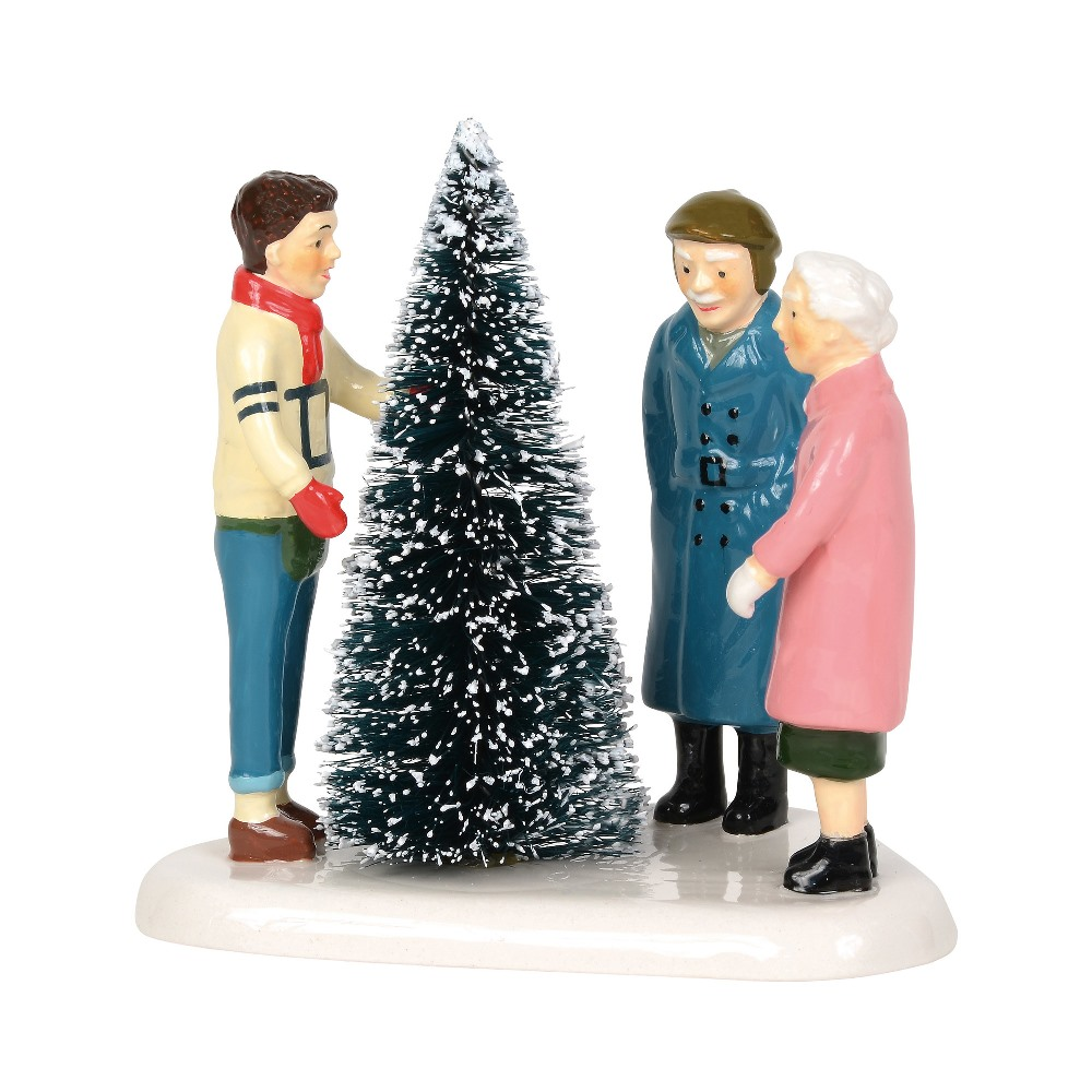 Department 56 Snow Village Accessory - Choosing The Perfect Tree 2019