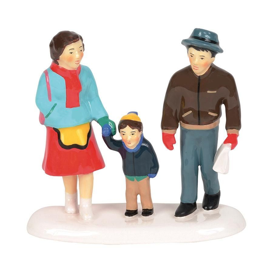 Department 56 Snow Village Accessory - Dad's Turn To Cook 2019