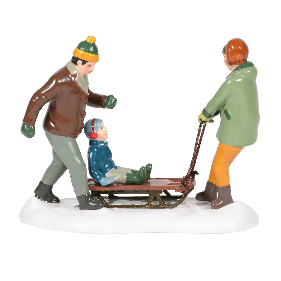 Department 56 Snow Village Accessory - Heading For The Hills 2020