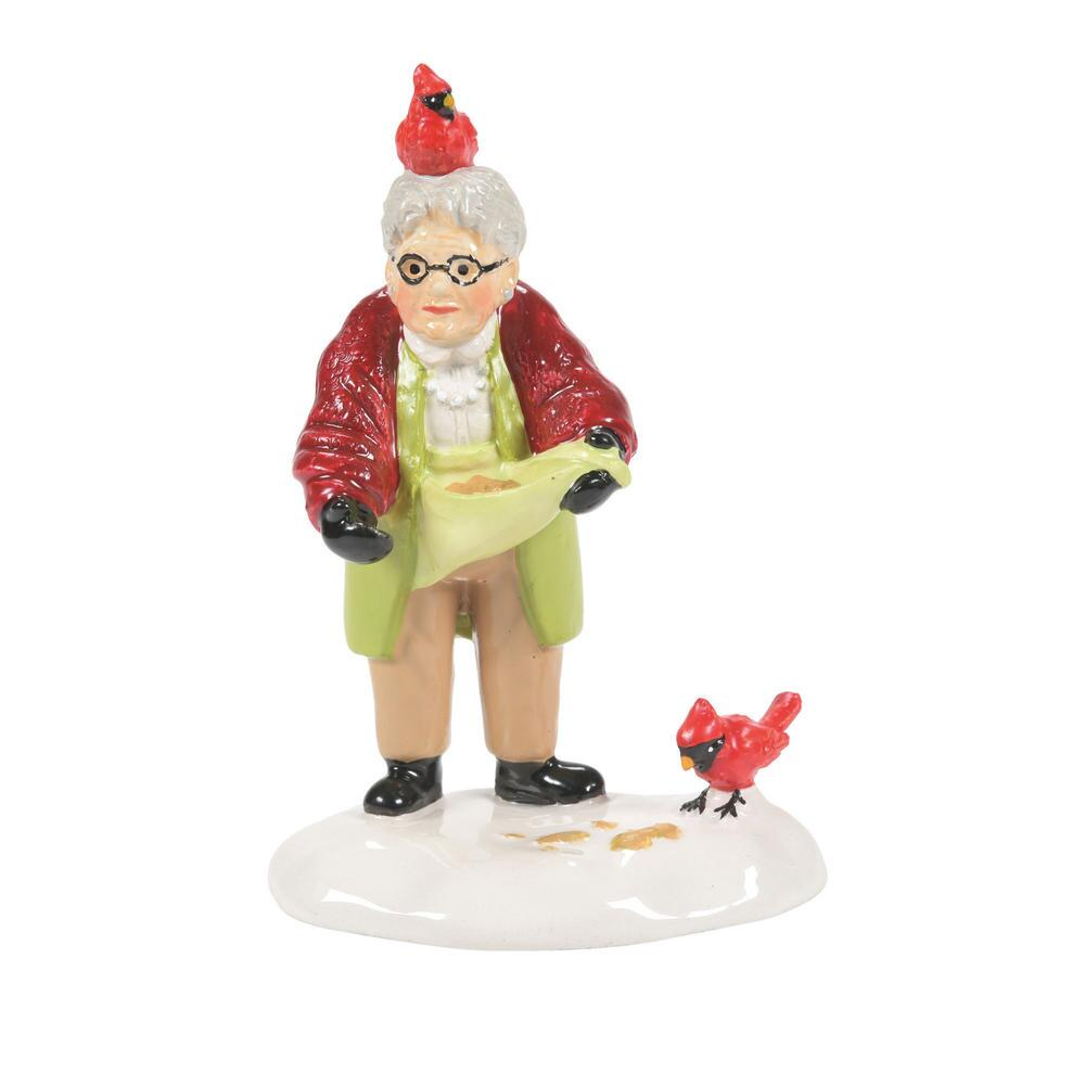 Department 56 Snow Village Accessory - Her Fine Feathered Friend 2021