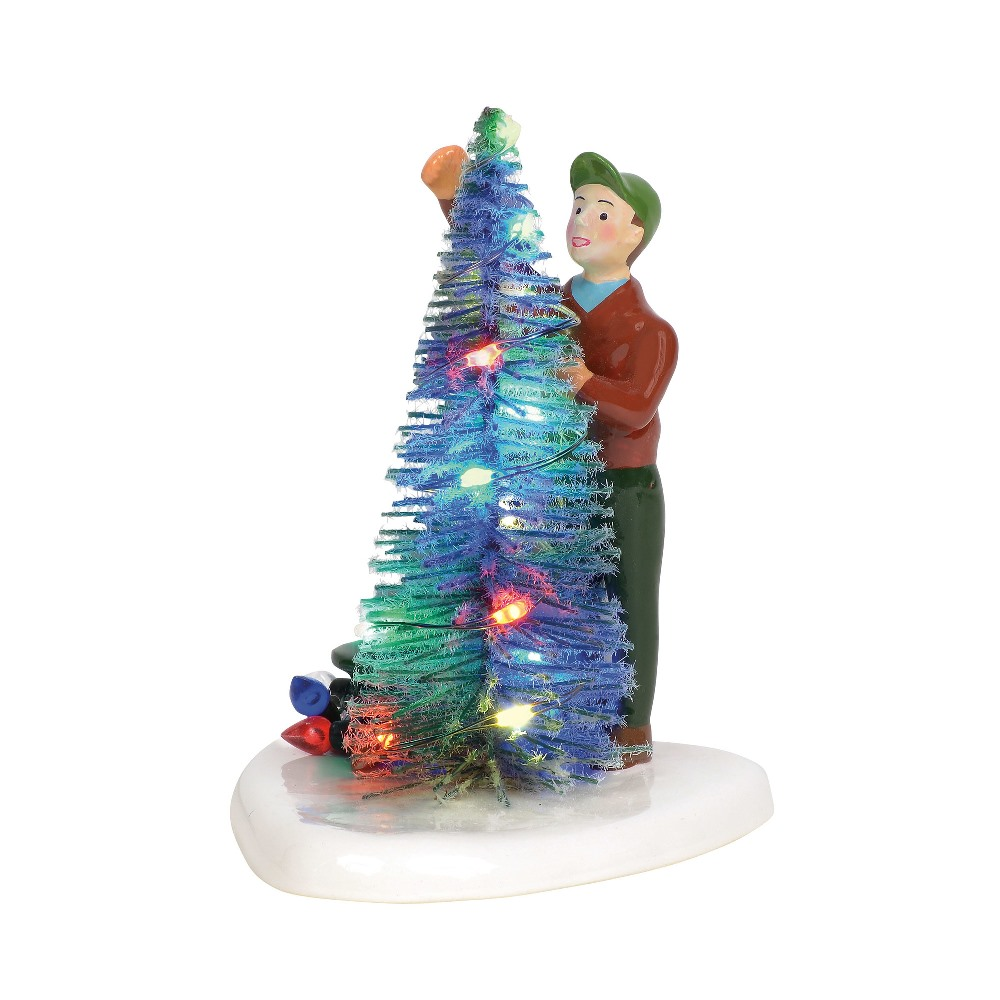 Department 56 Snow Village Accessory - Making Christmas Brite 2019