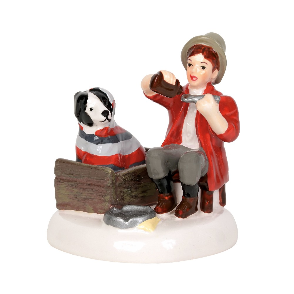 Department 56 Snow Village Accessory - Rockwell's Beside Manner 2019