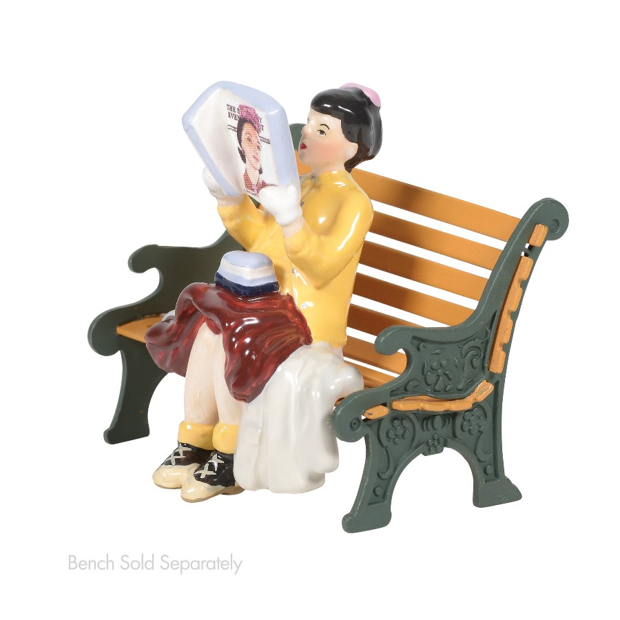 Department 56 Snow Village Accessory - Rockwells Cover Girl 2020