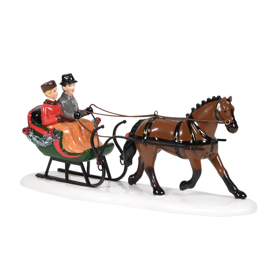 Department 56 Snow Village Accessory - Sleigh Bells Ride 2020